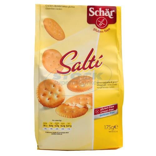 Foto GALLETITAS SALADAS SALT 175GR SCHAR PLA de