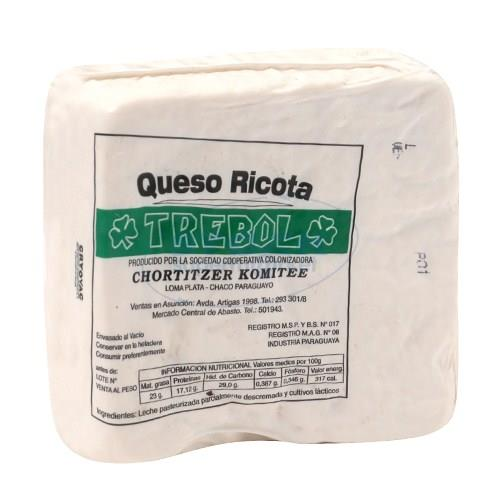 Foto QUESO RICOTA TREBOL GRA 1 KG R de