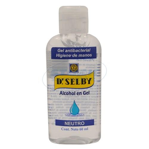 Foto ALCOHOL EN GEL DR SELBY NEUTRO FRASCO 60ML de