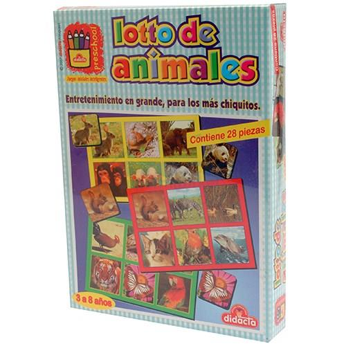 Foto JUGUETE DIDACTA LOTTO DE ANIMALES de
