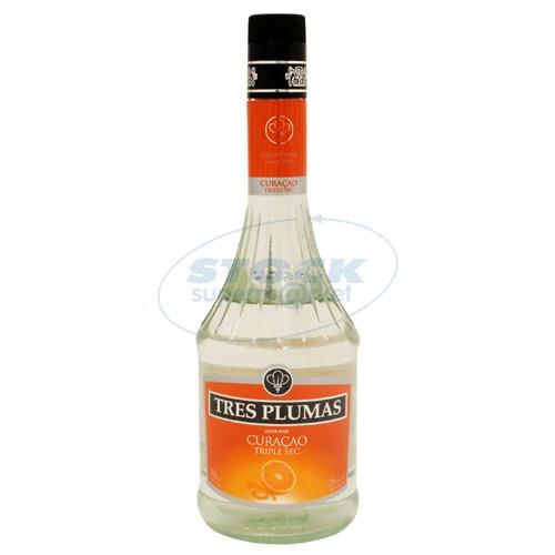 Foto LICOR TRES PLUMAS TRIPLE SEC BOTELLA 700ML de
