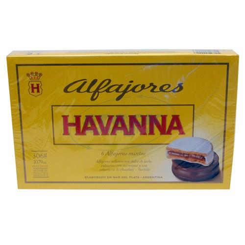 Foto ALFAJOR HAVANNA MIXTO 6 UN de