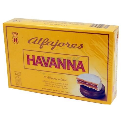 Foto ALFAJOR HAVANNA MIXTO 12 UN de