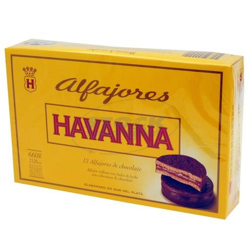 Foto ALFAJOR HAVANNA CHOCOLATE 12 UN de