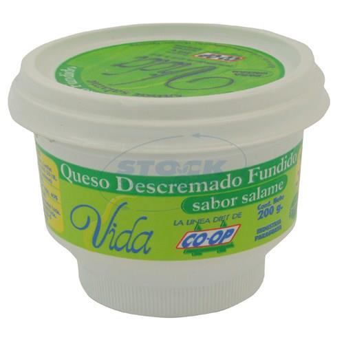 Foto QUESO COOP VIDA FUNDIDO POTE 200 GR de