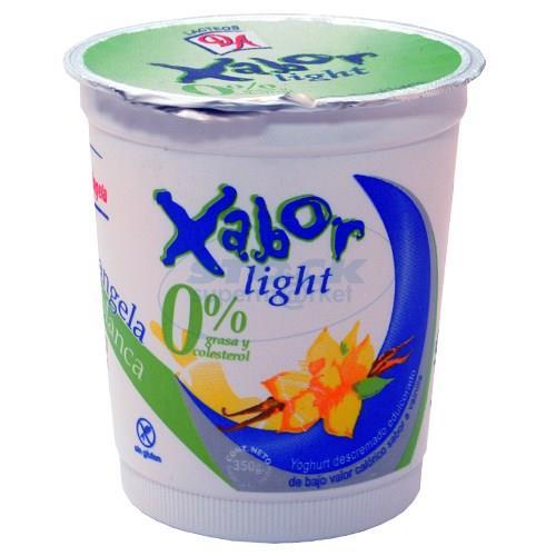 Foto YOGURT XABOR LIGHT VAINIL 350GR de
