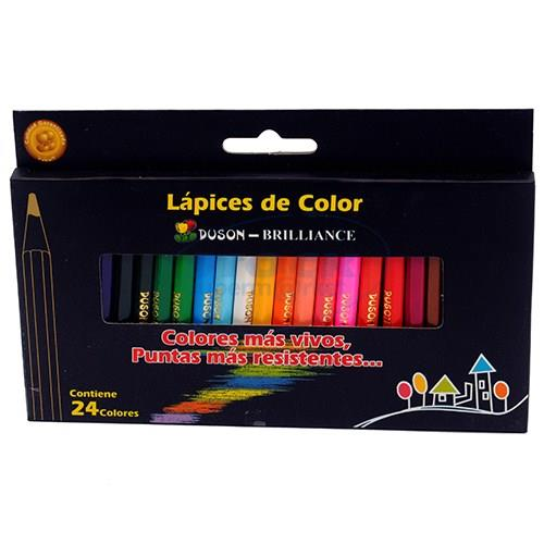 Foto LAPICES DE COLORES 24 CORTO DUZON BRILLANCE de