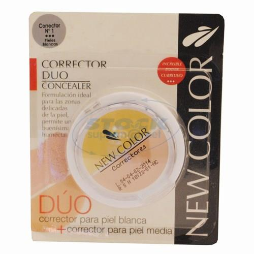 Foto CORRECTOR DE OJERA NEW COLOR DUO N 1 de