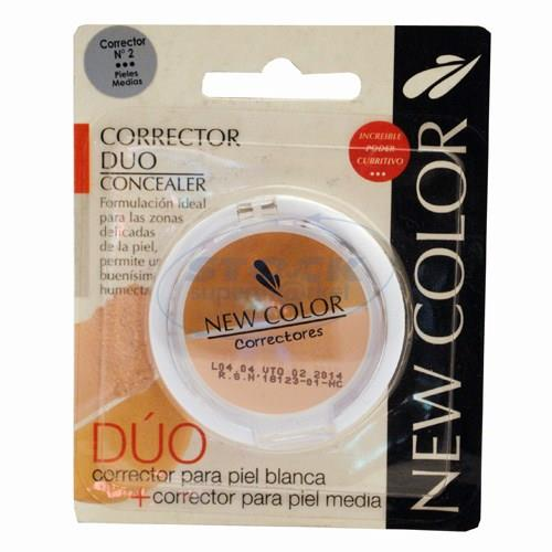 Foto CORRECTOR DE OJERA NEW COLOR DUO N 2 de