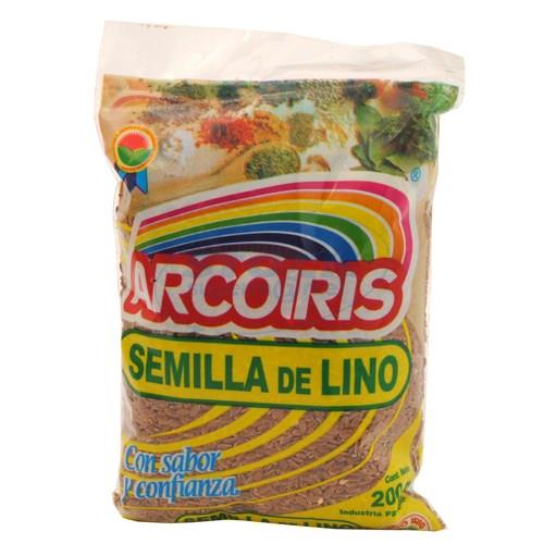 Foto SEMILLA DE LINO ARCO IRIS X200GRS de