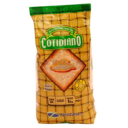 ARROZ COTIDIANO TIPO 3 PAQUETE 1KG