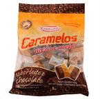 Foto CARAMELO LECHE Y CHOCOLATE 150GR EMBARE PAQUETE de