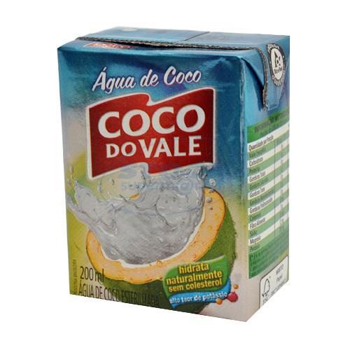 Foto AGUA D/COCO 200ML COCO DO VALE TETRA de