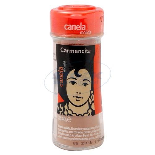 Foto CANELA MOLIDA CARMENCITA FRASCO 40GR de