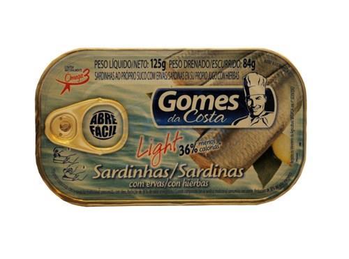 Foto SARDI GOMES DA COSTA LIGHT 125GR de