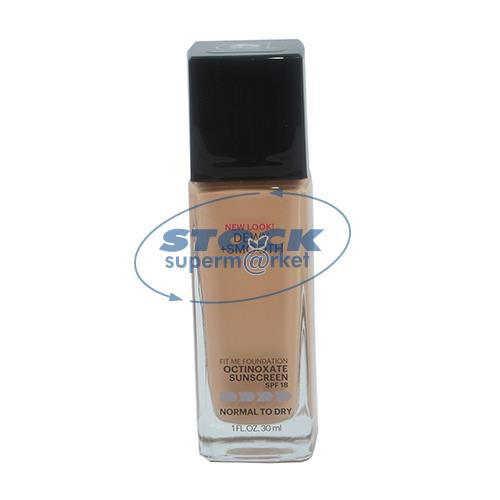 Foto BASE BUFF BEIGE TONO 130 30ML FIT ME MAYBELLINE VIDRIO de