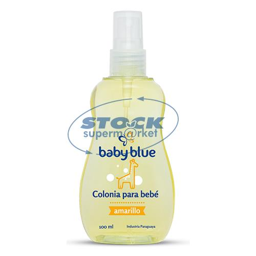 Foto COLONIA BABY BLUE PARA BEBE AMARILL 100ML de