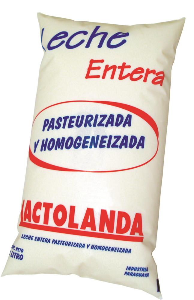 LECHE LACTOLANDA SACHET 1 LITRO . SA