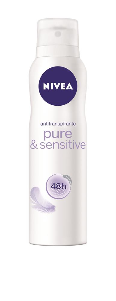 DESODORANTE FEM SENSITIVE 150ML NIVEA AEROSOL