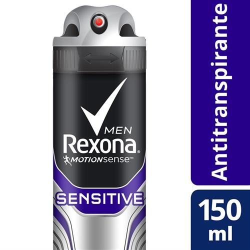 Foto ANTITRANSPIRANTE 150ML REXONA MEN SENSITIVE AER de