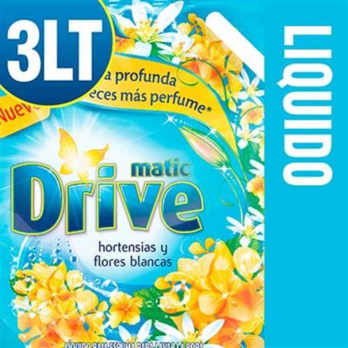 Foto JABON LIQUIDO HORTENSIAS Y FLORES BLANCAS MATIC DRIVE X3LT DOYPACK de