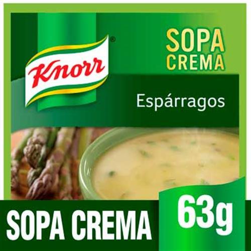 Foto SOPA CREMA ESPARRAGOS 63GR KNORR PLA de