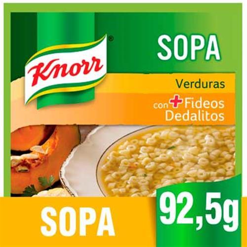 Foto SOPA D/VERD/CARN C/FID 10X92.5GR KNORR PLA de