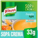 Foto  SOPA CREMA LIGTH ZAPALLO 33G KNORR PLA de