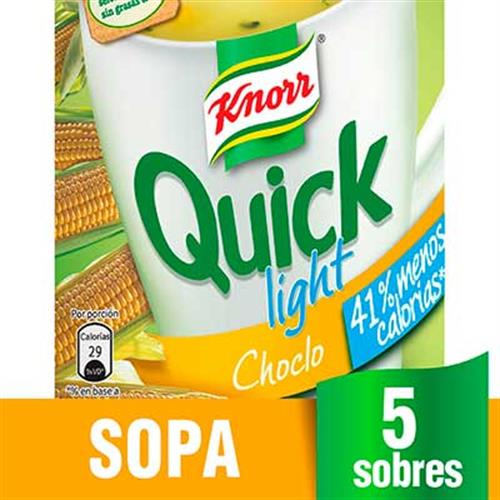 Foto SOPA QUICK 24X45GR LIG CHOCLO KNORR CJA de