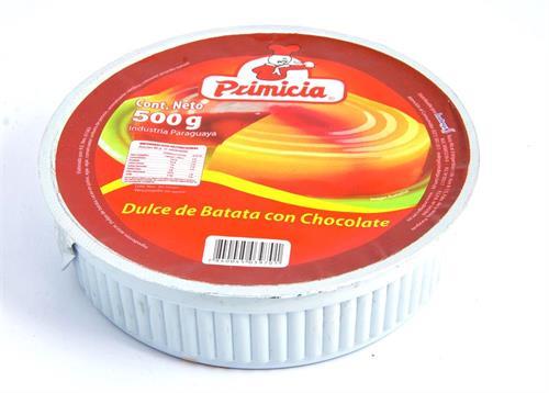 Foto DULCE D/BATATA C/CHOCOLATE 500ML PRIMICIA PLA de
