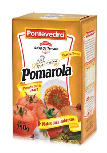 Foto SALSA D/TOMATE POMAROLA 750GR PONTEVEDRA CJA de