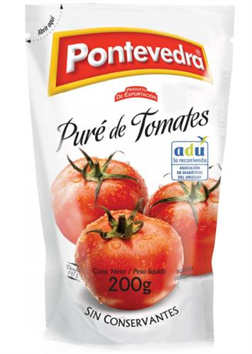 Foto PURE DE TOMATES 200GR PONTEVEDRA DOYPACK de
