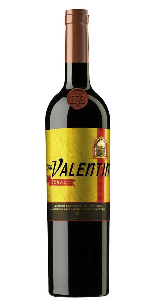 Vino tinto DON VALENTIN Lacrado 750 ml.