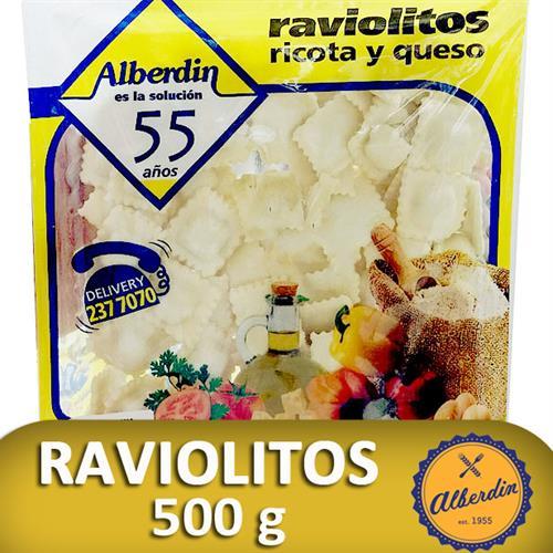 Foto RAVIOLES D/RICOTA Y QUESO 500GR ALBERDIN PAQ de