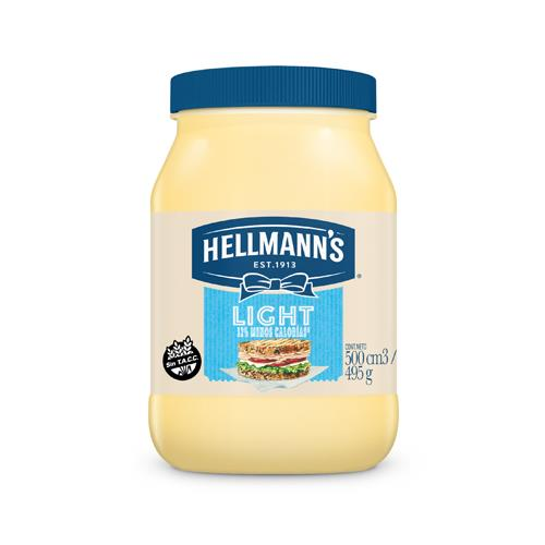Foto MAYONESA LIGHT 495 GR HELLMANNS FCO de