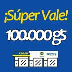 Foto SUPER VALE 100.000 GS  de