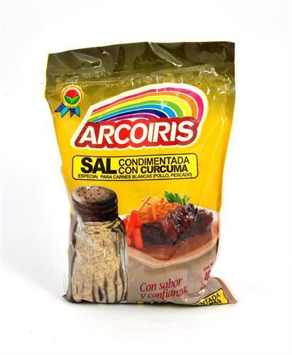 Foto SAL CONDIMENTADA C/CURCUMA 400GR ARCOIRIS BSA de