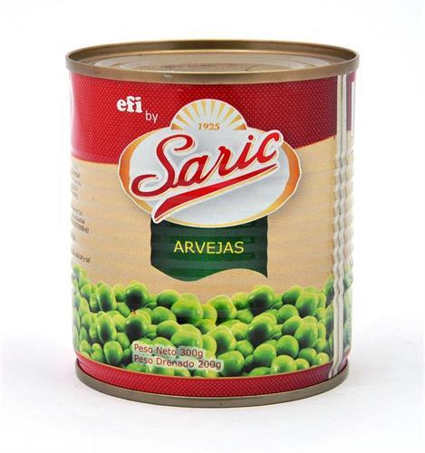 Foto ARVEJA EN GRANOS 300GR SARIC LAT de