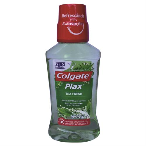 Foto ENJUAGUE BUCAL PLAX TEA FRESH 250ML COLGATE FRA de