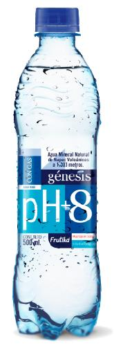 Foto AGUA MINERAL GENESIS C/ GAS BOT X 500 ML  de