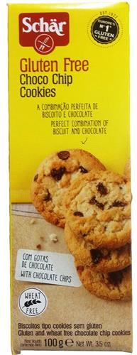 Foto GALLETITA CHOCO CHIP COOKIE 100GR SCHAR CJA de