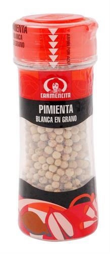 Foto PIMIENTA BLANCA CARMENCITA EN GRANOS 50GR de