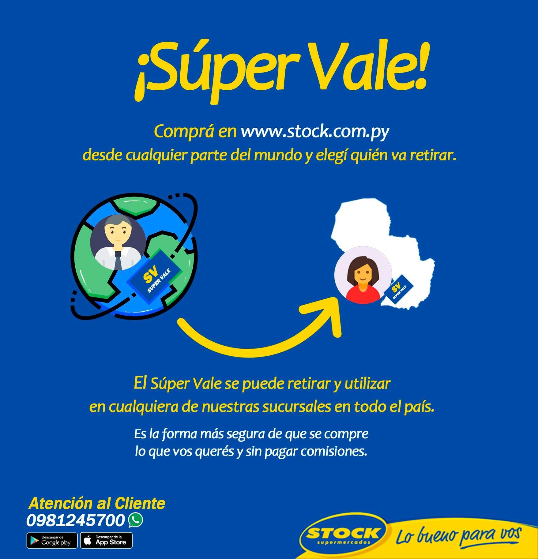 SUPER VALE STOCK