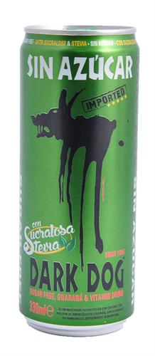 Foto ENERGIZANTE S/AZUCAR GUARANA 330ML DARK DOG LAT de
