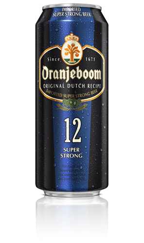 Foto CERVEZA SUPER STRONG 500ML ORANJEBOOM LATA de