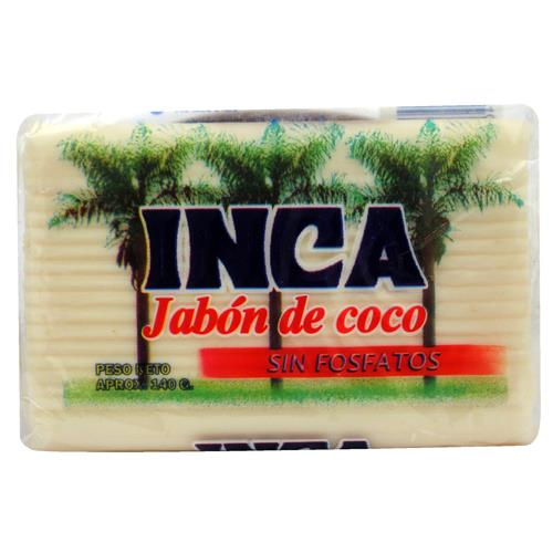 Foto JABON EN INCA COCO PACK 135 GR de