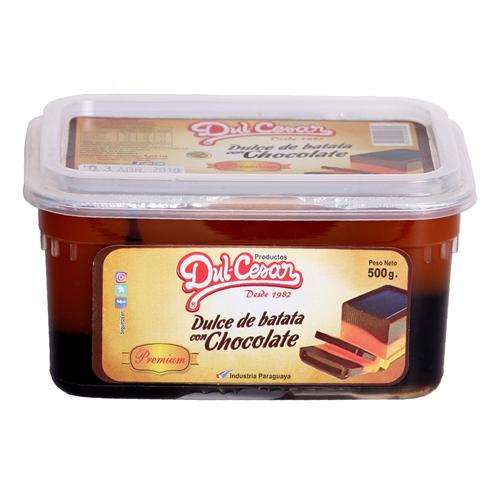 Foto DULCE D/BATATA C/CHOCOLATE PREMIUM 500GR DULCESAR PLAS de