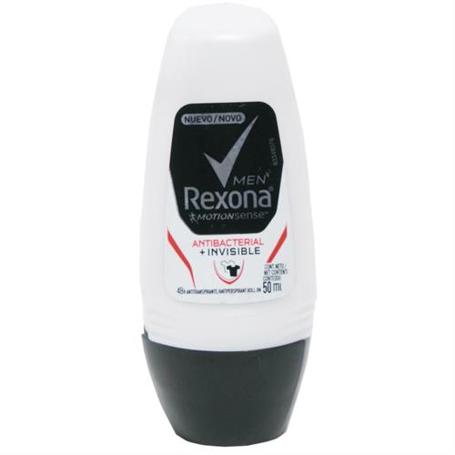 Foto DESODORANTE MEN ANTIBACTERIAL INVISIBLE 50ML REXONA de
