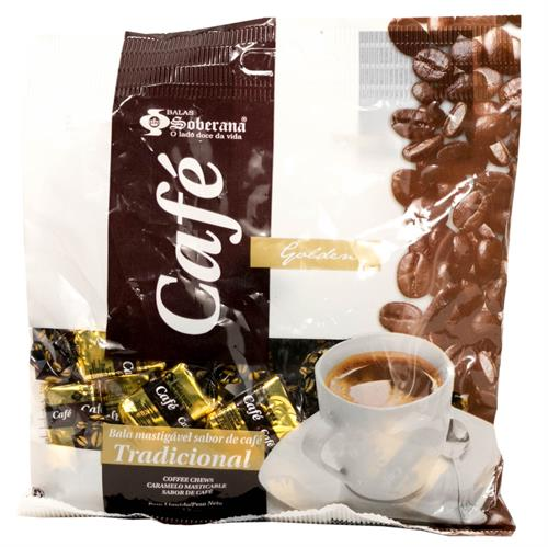 Foto CARAMELO MASTICABLE CAFE GOLDEN 70GRS SOBERANA BSA de