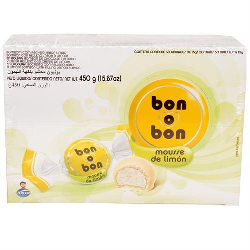 Foto BOMBONES MOUSSE DE LIMON 450GR BON O BON CJA  de